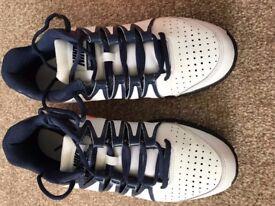 Nike Vapor Court Mens Tennis Shoes - White/Orange
