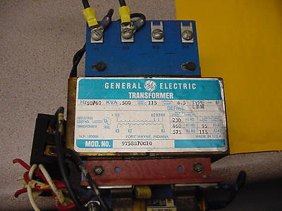 Hurco Md1 General Electric Ge Transformer 9tb58b70g10