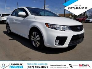 2013 KIA FORTE KOUP! SPORTY COUPE with under 62,000KM!