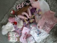 Baby girl bundle £22 ONO