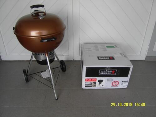 Weber Holzkohlegrill Master Touch Gbs 57 Cm Special Edition : Weber master touch gbs holzkohle special edition Ø cm amazon