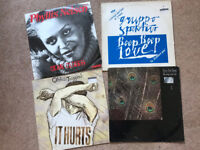 "4 x 12"" Vinyl Records - Free to Collect"