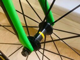Cannondale track 1 track bike road bicycle fixed gear caad10 bike