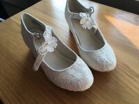 Children's bridesmaid shoes or First Holy Communion