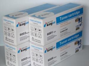 Compatible Color Toners for HP Q6000A 1A 2A 3A fit Laserjet 1600 2600n 2605dn CM1015mfp CM1017mfp $35.00 each