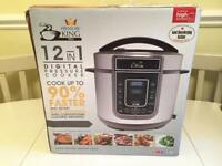 Pressure King Pro 12 in 1 Pressure Cooker / Slow Cooker