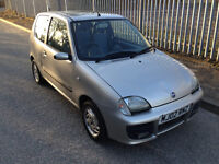 Fiat Seicento 1.1 Sporting 3door Only 53,000 MILES, 10 Months MOT, £399