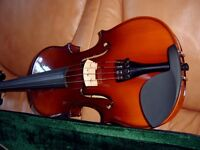 Violin, bow and case.....