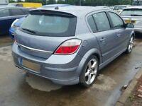 Astra h sri 2007 5 door rear tailgate with xp spoiler in silver lightning z163 07594145438