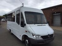 MERCEDES SPRINTER MINIBUS 413CDI AUTO 2002REG AIR CON HEATER CAMPER SERVICE HISTORY, FOR SALE
