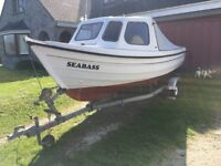 Orkney 520 boat with Yamaha outboard