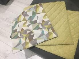 Green DFS Cushion Covers