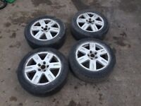 Ford alloys . 16 inch . Connect