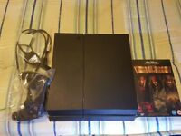 ps4 PS4 bundle with gta5 and pirates of the caribbean movie set ps 4 is newer model chassis C