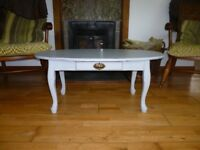 Beautiful Vintage Upcycled Coffee Table