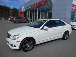 2012 Mercedes-Benz C-Class C250 4MATIC AUTOMATIQUE CUIR TOIT OUV