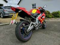 Aprilia RS125 Spains no 1 special edition. Fp