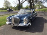 Stunning Left Hand drive Mercedes 280se 1968 Manual