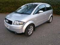 Audi a2 1.6 Fsi low mileage 12 month Mot
