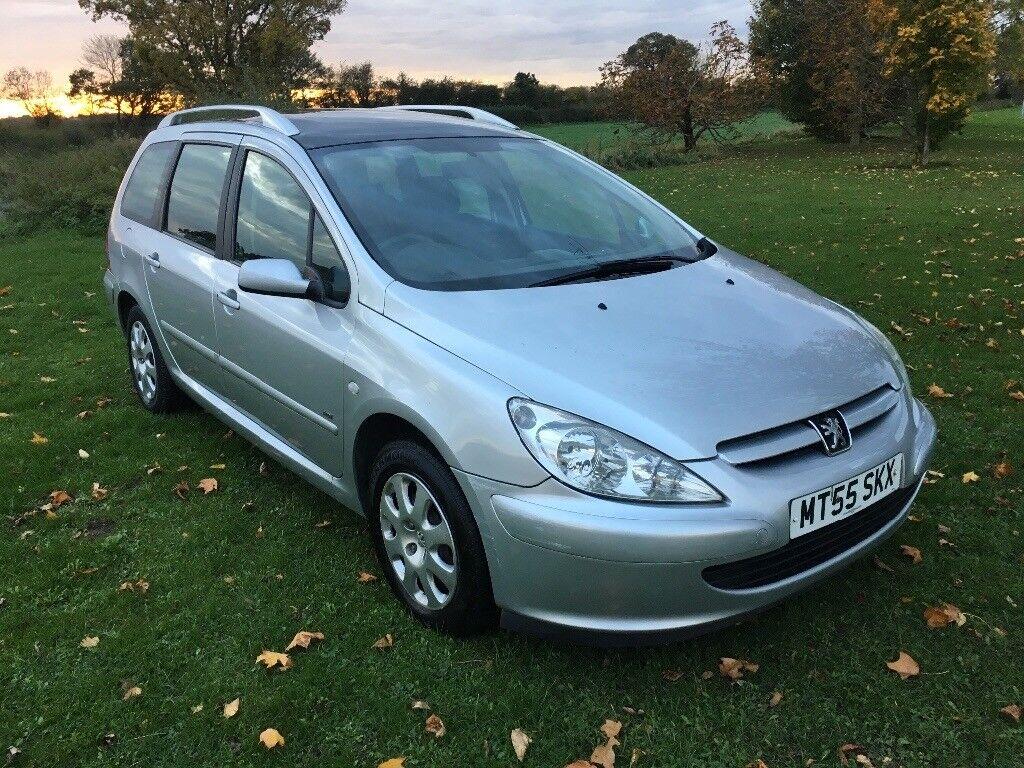 Peugeot 307 sw estate 1.6 hdi diesel 55 plate £500