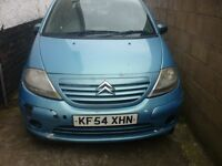 c3, new mot 2004, drives all good, 5 doors , give away price
