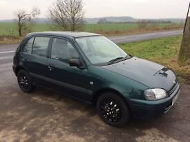 Toyota Starlet ideal first car