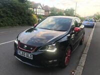 65 PLATE SEAT IBIZA FR RED / BLACK EDITION CAT D 19,000 MILES ONLY