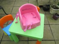 toddler eating chair