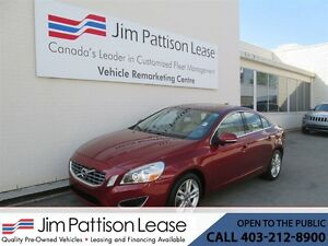 2012 Volvo S60 3.0L AWD T6 Turbo NAV! Bluetooth LOADED!