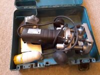 "Trend 1/4"" shank router 110v very good condition"