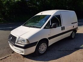 56 PLATE FIAT SCUDO 2.0 HDI AMAZING ON FUEL VERY VERY CLEAN VAN NEW TIMING BELT MOT UNTIL MAY 2018