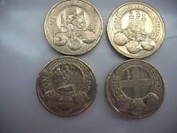Set of 4 Cities £ coins