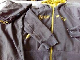 Girls brownies trousers and hoodie