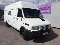 Iveco Motorhome motocross also sleeps 5people Caravan 2.8 diesel