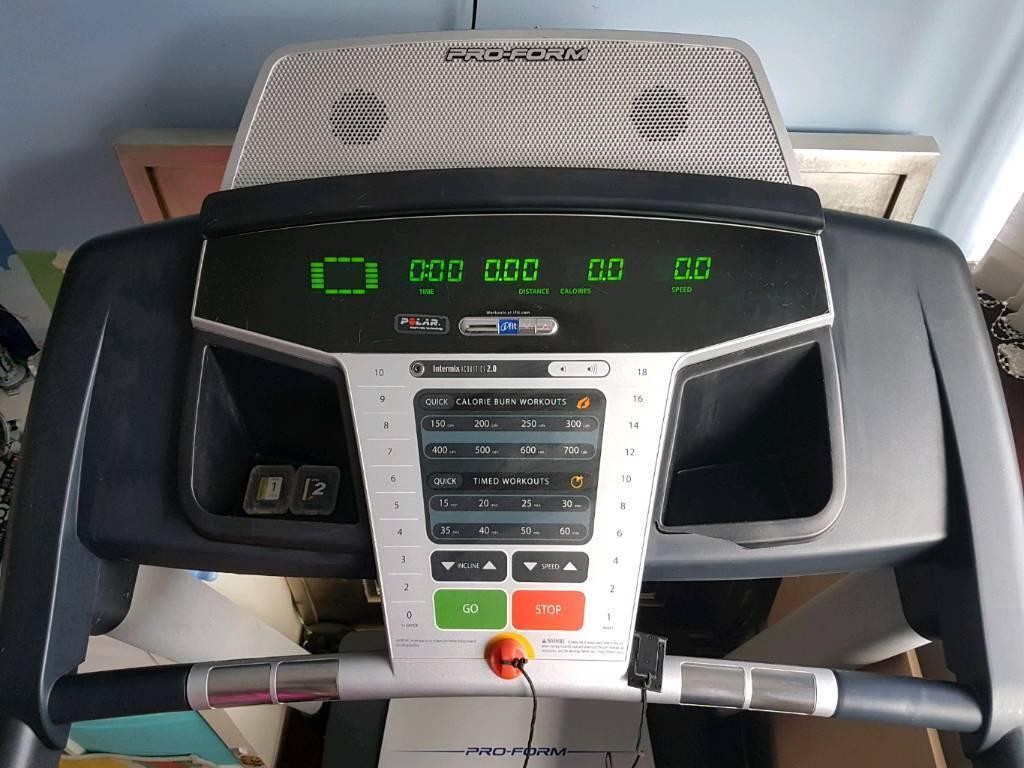 Proform motorised treadmill, excellent machine