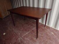 Retro Vintage Teak Extend Table,Can Deliver