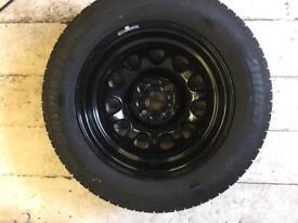 Brand new wheel & tyre