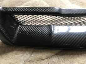 Brand new skyline r33 carbon fibre front grill