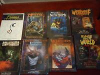 Very rare source books ,werewolf storytellers handbook ,werewolf the apocalypse , rage sourcebooks