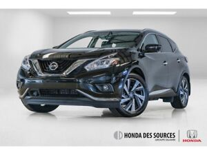 2017 Nissan Murano Platinum Camera 360 ToiT Panoramique
