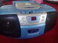 Alba portable CD player with radio