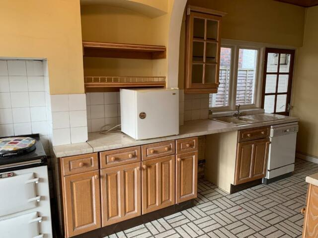 Used Kitchen Units Wooden Doors Kitchen Cabinets In Walsall