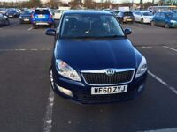 SKODA FABIA 1 YEAR MOT with low mileage
