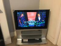Panasonic 50 tv with built in free view and stand 50 pound