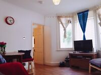 Large double room in maisonette flat share with garden on Harringey Ladder N8 area