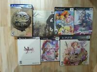 Special Editions Playstation Nintendo Imports.