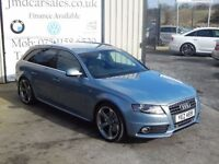 LATE 2009 AUDI A4 AVANT 2.0 TDI S LINE SPECIAL EDITION 141 BHP (FINANCE & WARRANTY AVAILABLE)