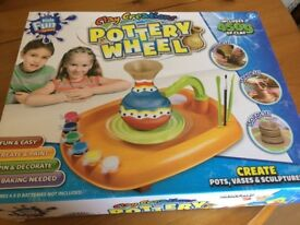Clay Creations Pottery wheel Kit - Brand new, never out of box.