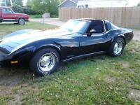 BLACK BEAUTY L82 SILVER ANNIVERSARY CORVETTE