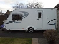 2011 STERLING EUROPA 2 BERTH C/W MOTOR MOVER - IDEAL COUPLES OR STARTER CARAVAN